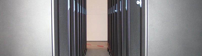 """szafy serwerowe -""""cieply korytarz"""""""