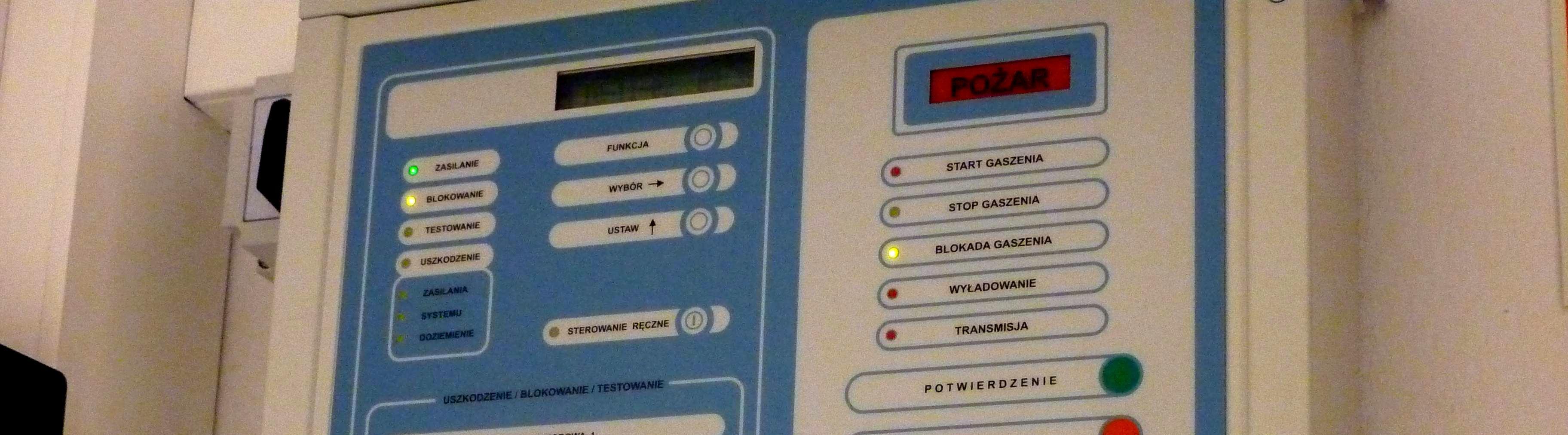 automatyczny i programowalny system przeciwpozarowy